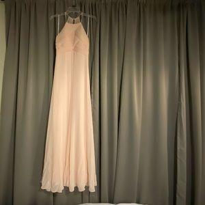 Blush #Levkoff bridesmaid or evening gown